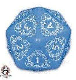 Q-Workshop Countdown D20 33mm Blue