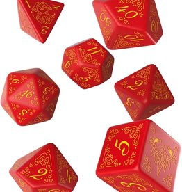 Q-Workshop Curse of the Crimson Throne Poly 7 Dice Set