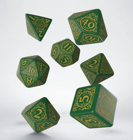 Q-Workshop Jade Regent Poly 7 Dice Set