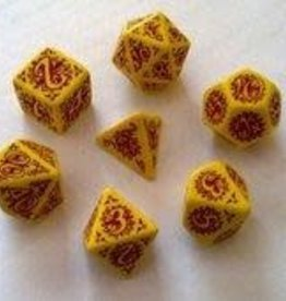 Q-Workshop Legacy of Fire Poly 7 Dice Set