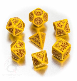 Q-Workshop Skull & Shackles Poly 7 Dice Set