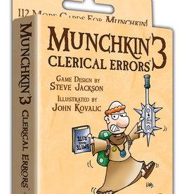 Steve Jackson Games Munchkin: 3 Clerical Errors