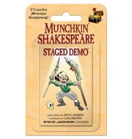 Steve Jackson Games Munchkin Shakespeare Staged Demo
