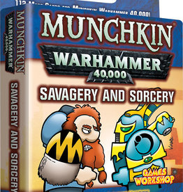 Steve Jackson Games Munchkin Warhammer 40K: Savagery and Sorcery