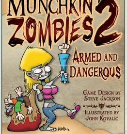 Steve Jackson Games Munchkin Zombies: 2 Armed and Dangerous