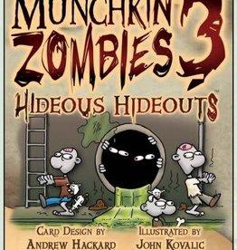 Steve Jackson Games Munchkin Zombies: 3 Hideous Hideouts