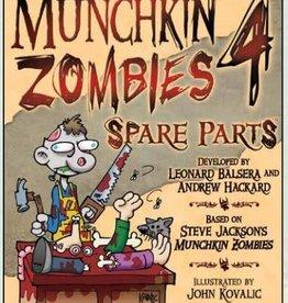 Steve Jackson Games Munchkin Zombies: 4 Spare Parts