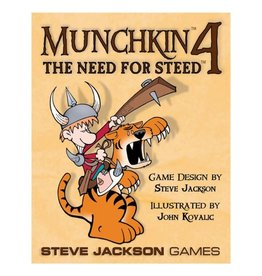 Steve Jackson Games Munchkin: 4 The Need for Steed