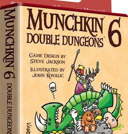 Steve Jackson Games Munchkin: 6 Double Dungeons
