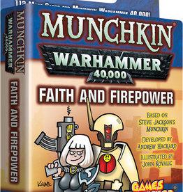 Steve Jackson Games Munchkin Warhammer 40K: Faith and Firepower