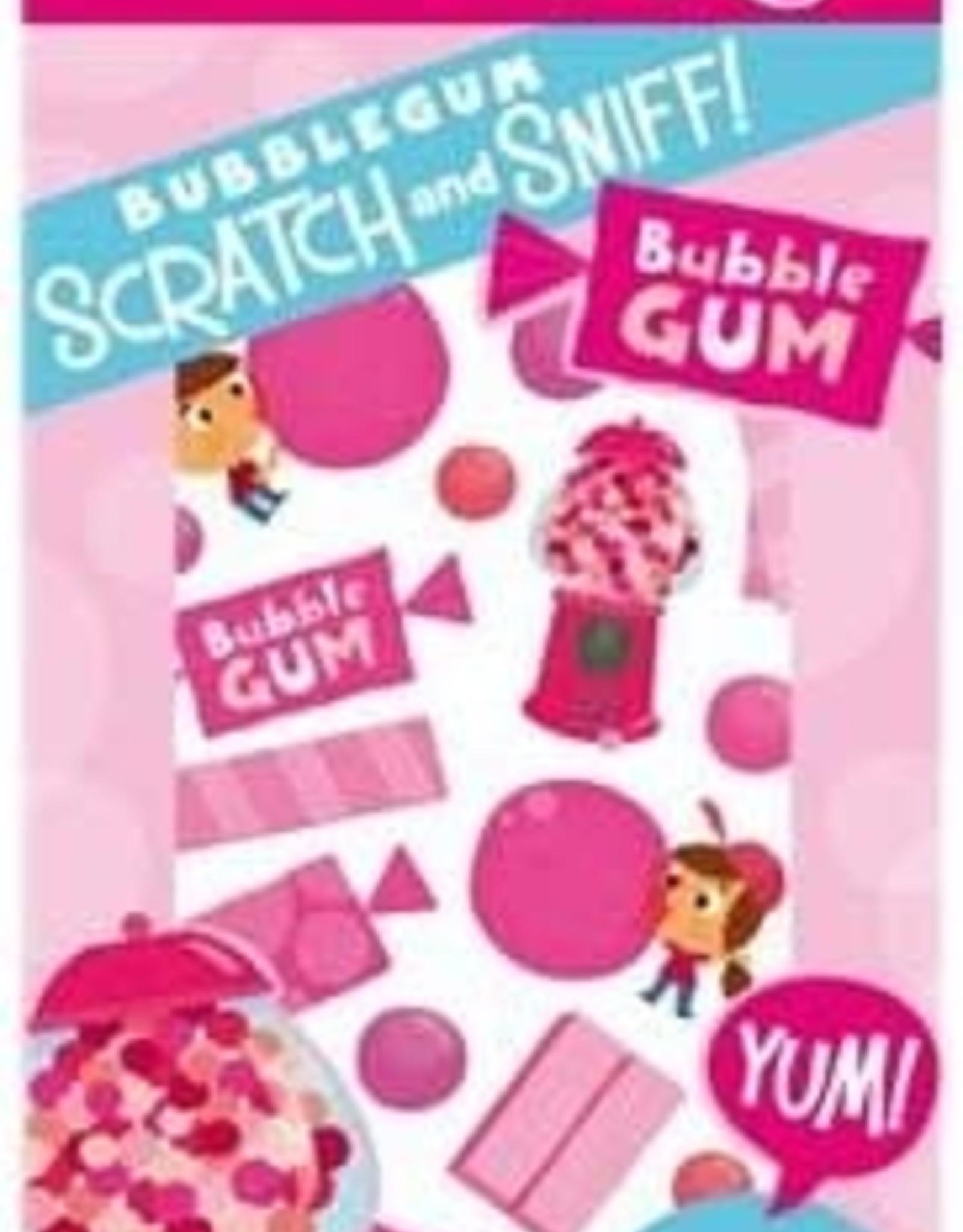 Peaceable Kingdom Bubblegum Scratch and Sniff Stickers