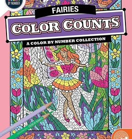 Mindware Color By Number Color Counts: Fairies