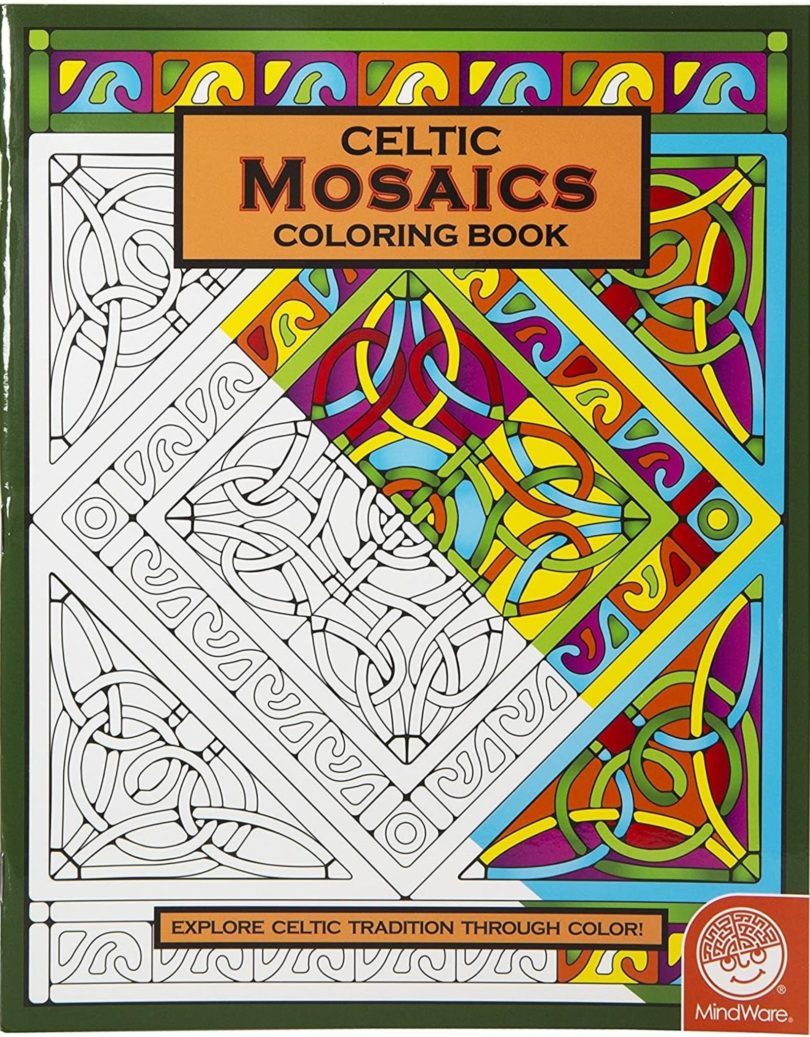 Mindware Celtic Mosaics Coloring Book