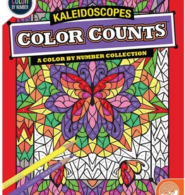 Mindware Color By Number Color Counts: Kaleidoscope