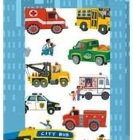 Peaceable Kingdom Construction Trucks Stickers