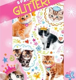 Peaceable Kingdom Glitter Kitties Stickers