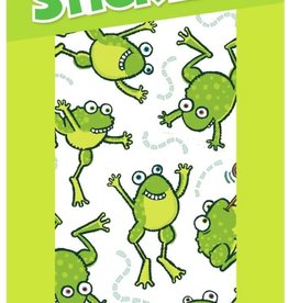 Peaceable Kingdom Green Apple Frogs Scratch and Sniff Stickers