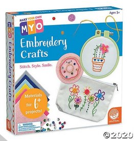 Make Your Own Make Your Own Embroidery Crafts