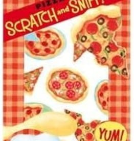 Peaceable Kingdom Pizza Scratch and Sniff Stickers