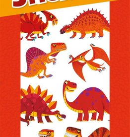 Peaceable Kingdom Red Hot Dinos Scratch and Sniff Stickers
