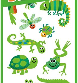 Peaceable Kingdom Silly Animals Furry Stickers