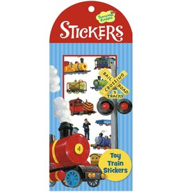Peaceable Kingdom Toy Trains Stickers