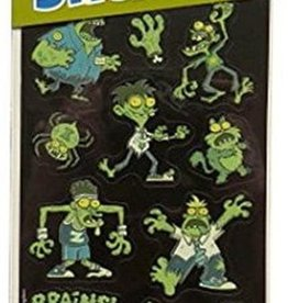 Peaceable Kingdom Zombies Glow-in-the-Dark Stickers