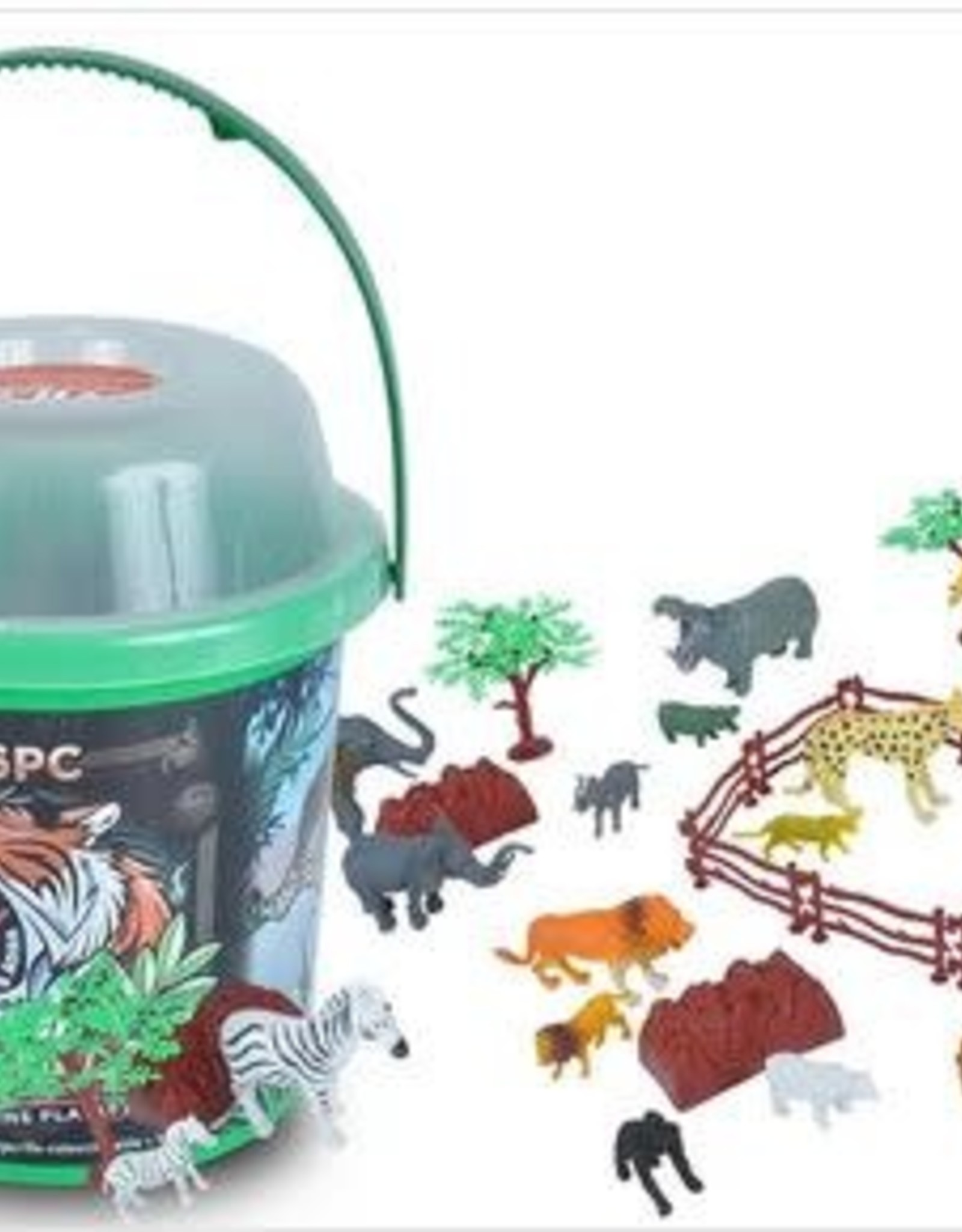 Wild Republic Adventure Bucket Set - Animals