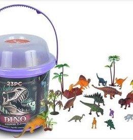 Wild Republic Adventure Bucket Set - Dinosaurs