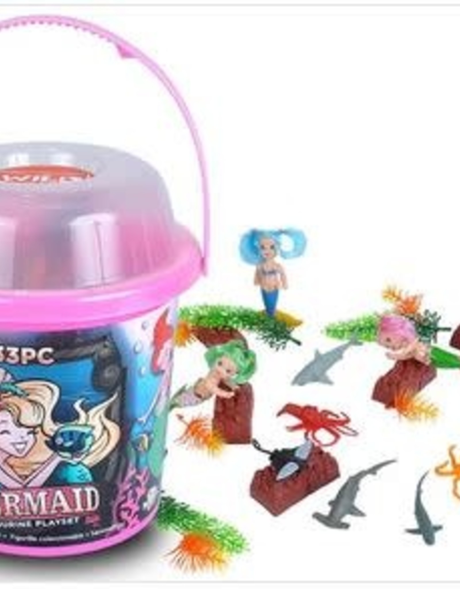 Wild Republic Adventure Bucket Set - Mermaids