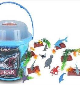 Wild Republic Adventure Bucket Set - Ocean