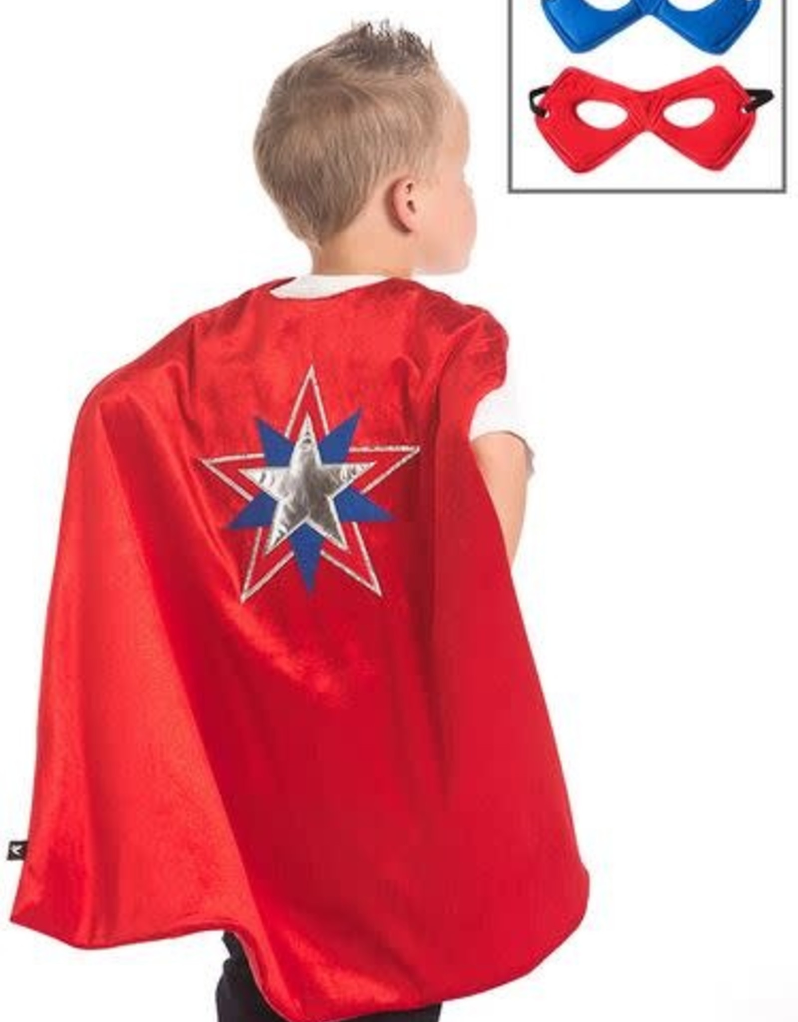 Little Adventures American Hero Cape & Mask Set
