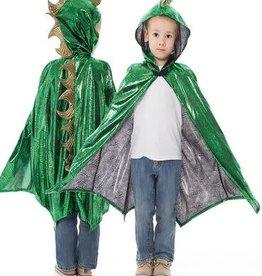 Little Adventures Dragon Cloak Green / Gold