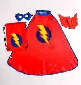 Little Adventures Drawstring Backpack Boy Hero Gift Set