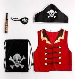 Little Adventures Drawstring Backpack Pirate Gift Set