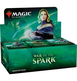 Wizards of the Coast Magic the Gathering: War of the Spark Booster Box