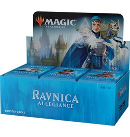 Wizards of the Coast Magic the Gathering: Ravnica Allegiance Booster Box