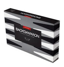 Brybelly 15in Backgammon w/Black Leather Case