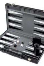 Brybelly 15in Backgammon w/Black Leather Case