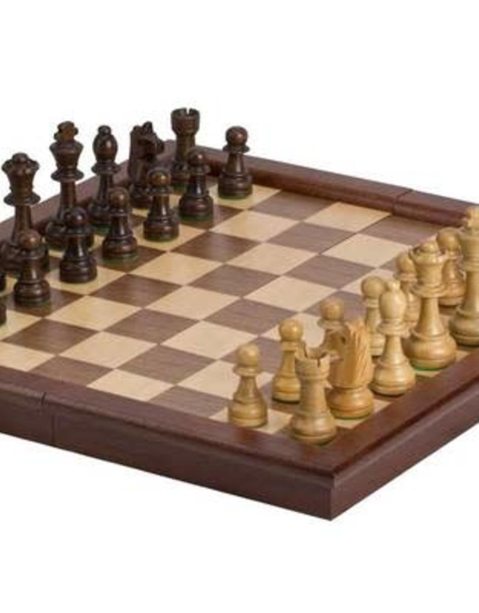 "CHH Games 17"" tournament style folding chess set"