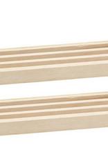 CHH Games 2pc wooden domino tile holder