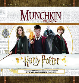 USAopoly Munchkin Harry Potter Deluxe