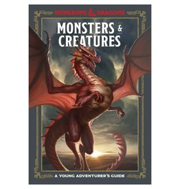Penguin Random House D&D Young Adv Guide: Monsters & Creatures