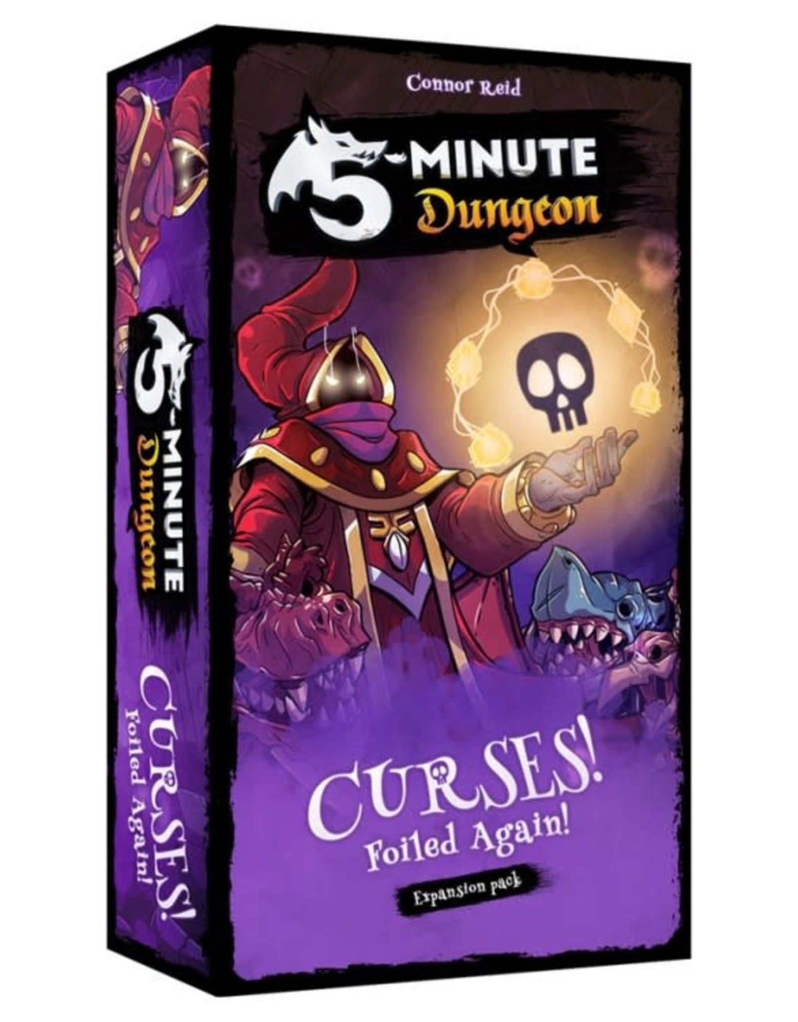 Wiggles #D 5-Minute Dungeon: Curses! Foiled Again