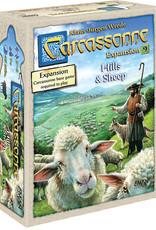 Z-Man Games Carcassonne: #9 Hills & Sheep