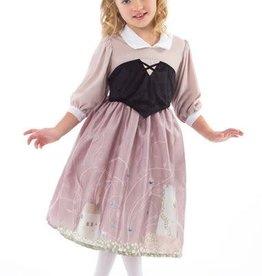 Little Adventures Sleeping Beauty Day Dress with Headband