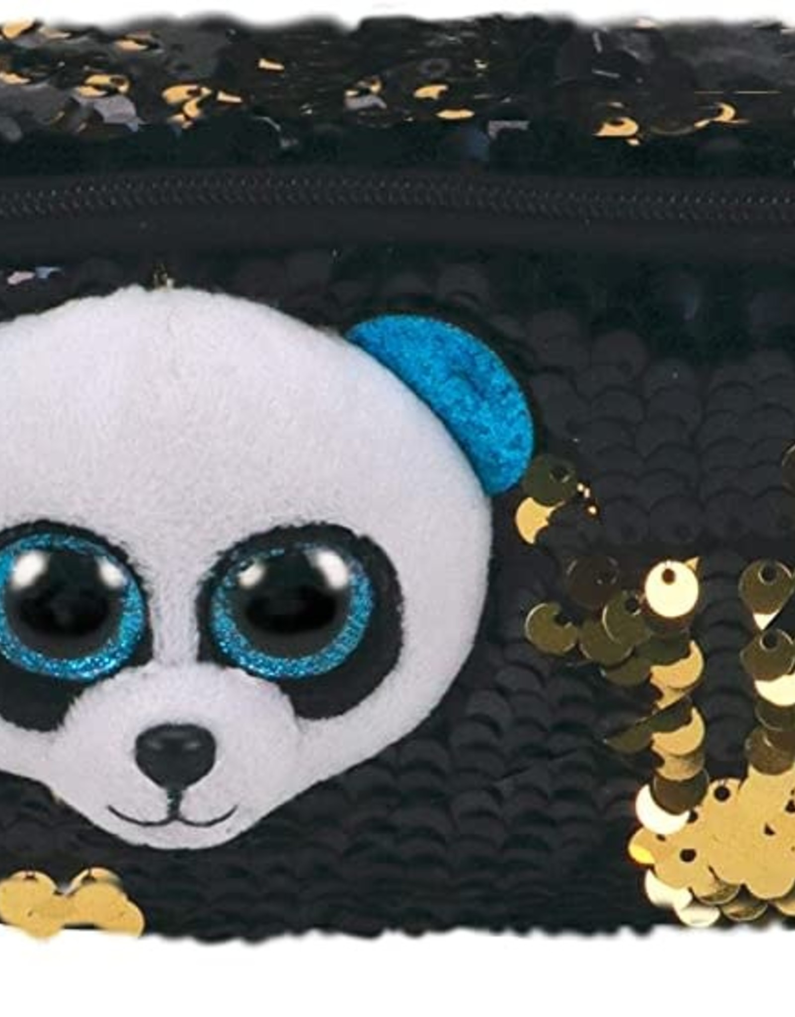 Ty Inc. Bamboo Sequin Pencil Bag