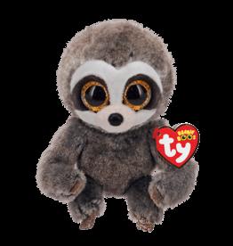 Ty Inc. Dangler Grey Sloth Small