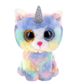 Ty Inc. Heather Cat with Horn Small