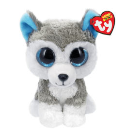 Ty Inc. Slush Grey/White Husky Small